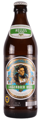 Augustiner Hell cerveza alemana