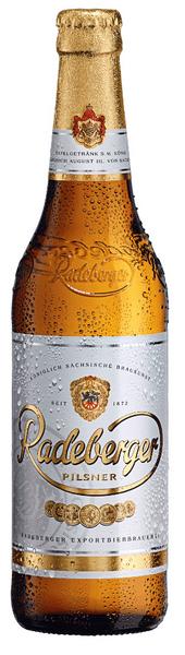 Radeberger Pilsner cerveza fabricada en alemania