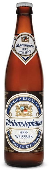 Weihenstephaner Hefe Weissbier cerveza alemana marca